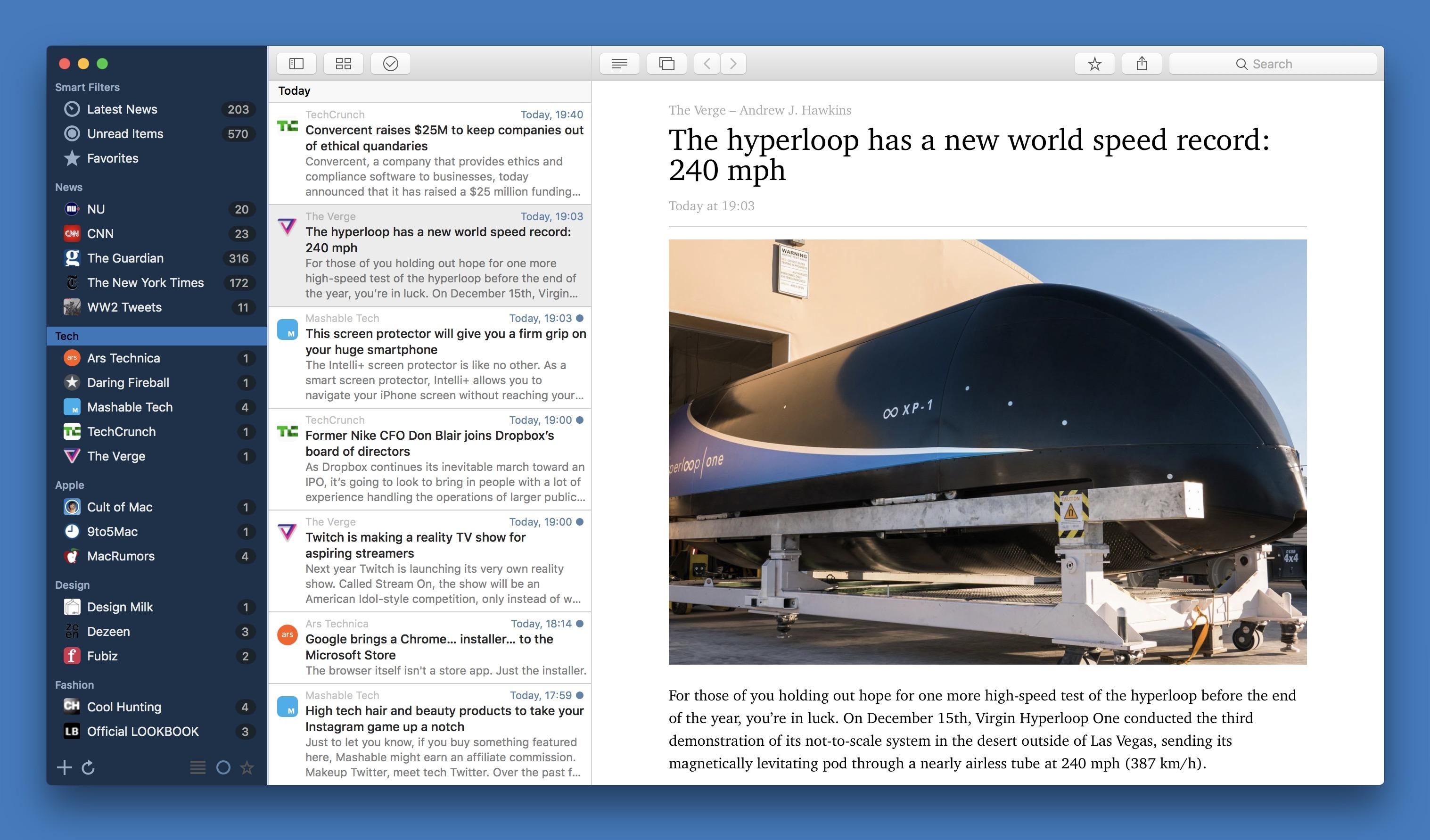 News Explorer 1.8.3