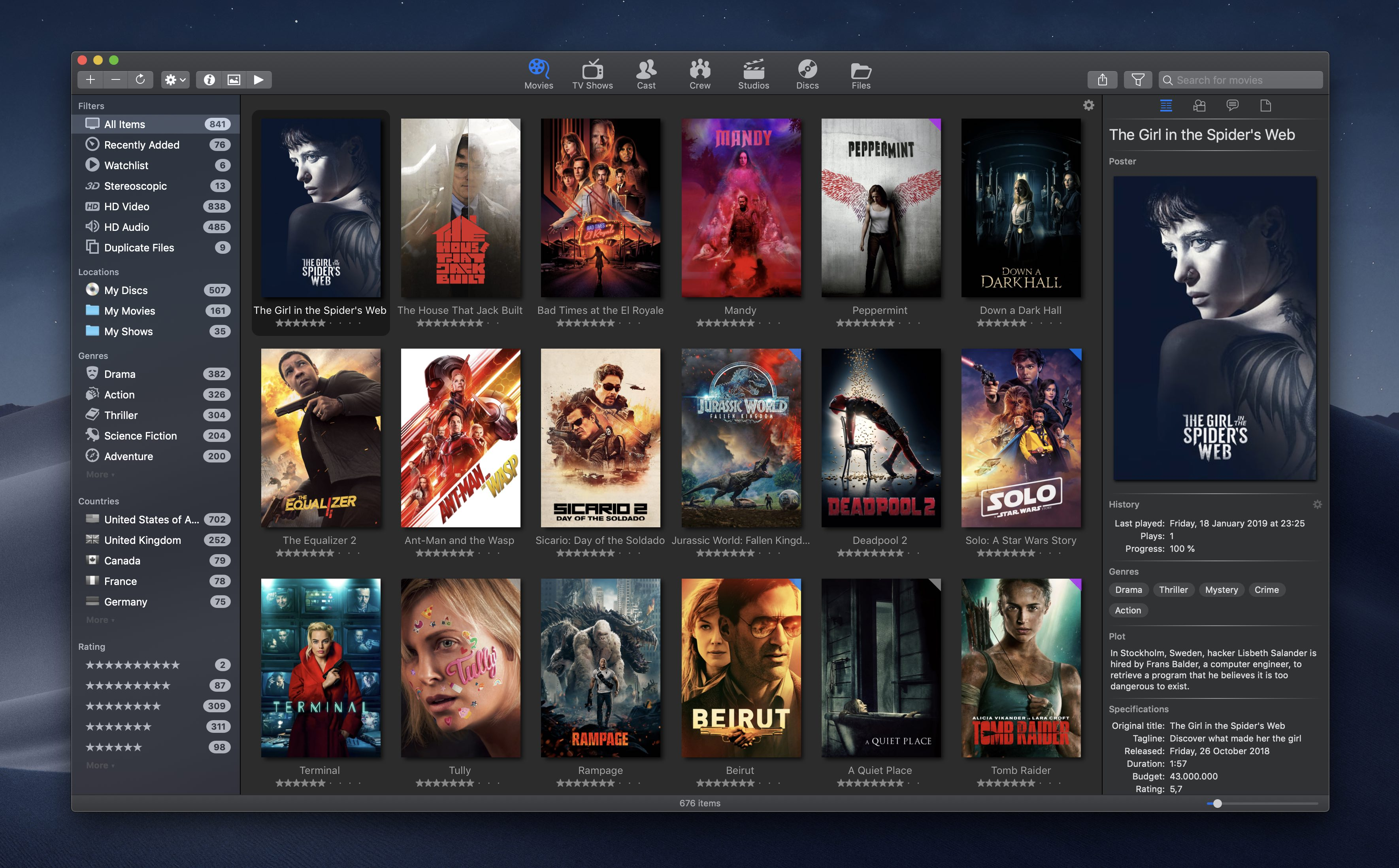 Movie Explorer Pro 2.0.3