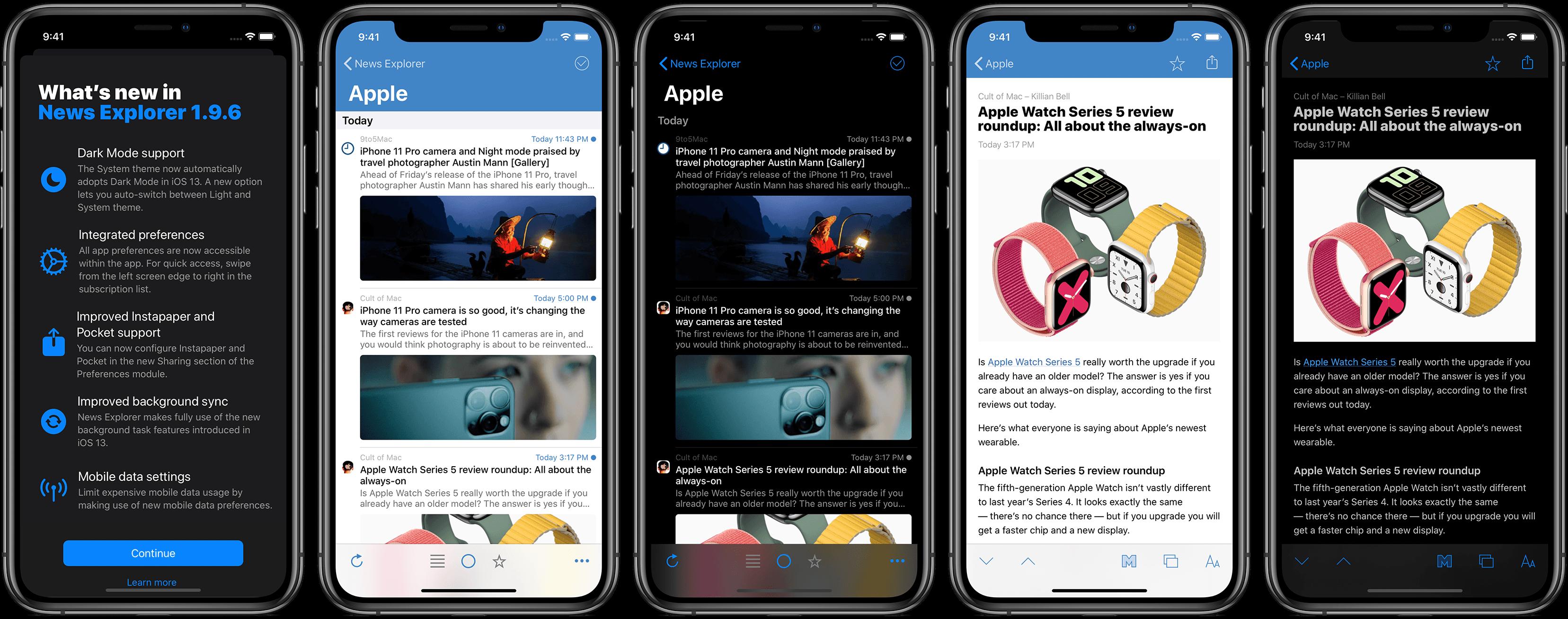 News Explorer 1.9.6