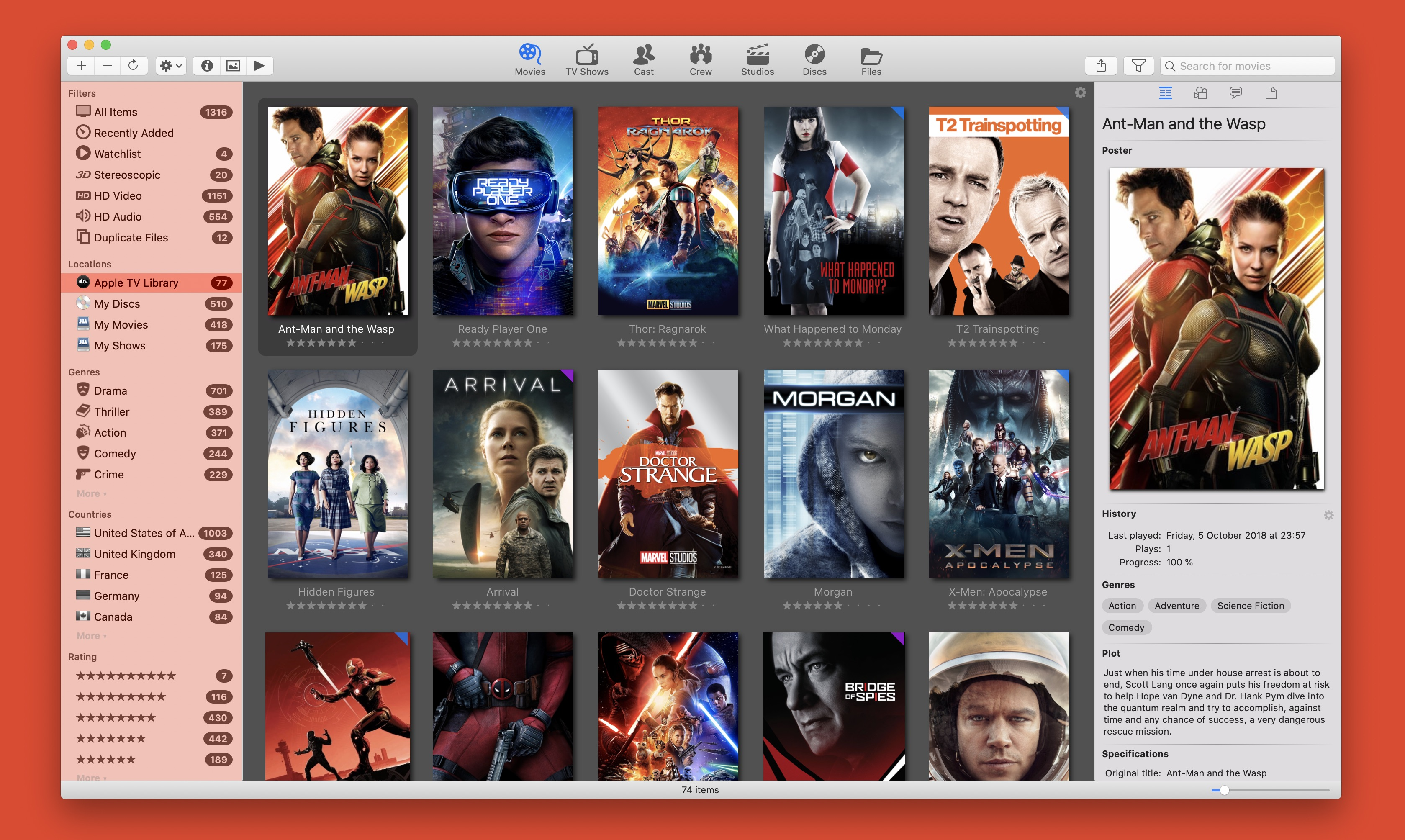 Movie Explorer Pro 2.1