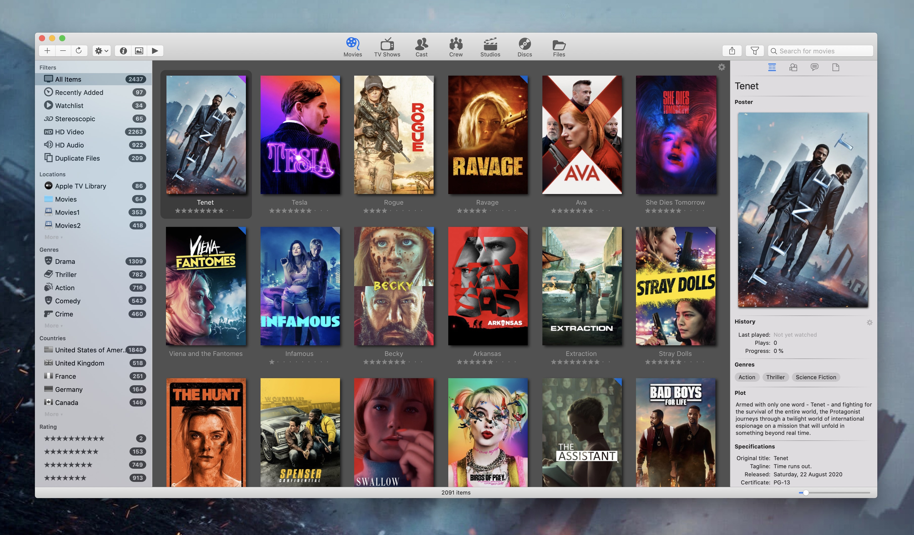 Movie Explorer Pro 2.2