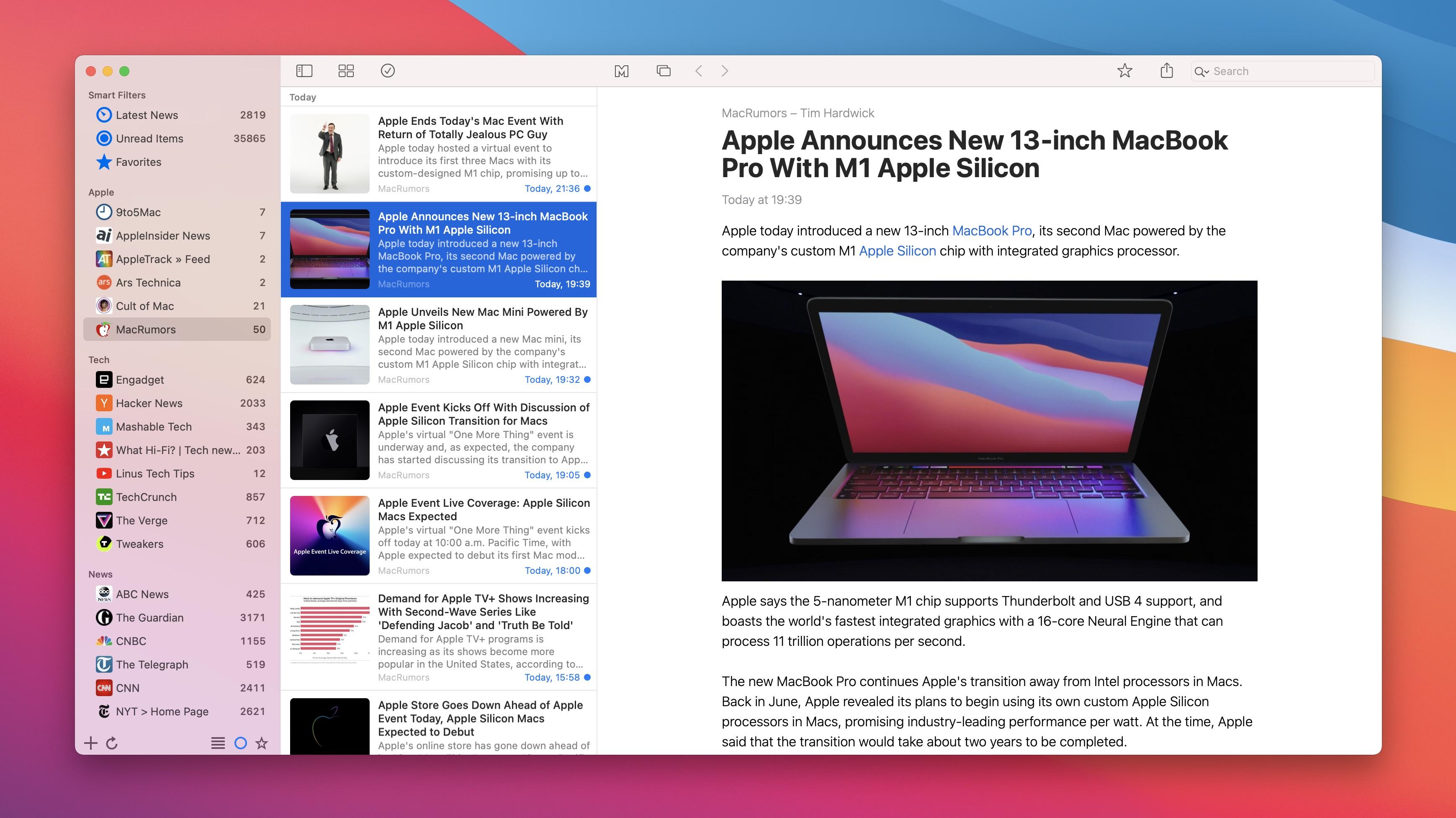News Explorer 1.9.11